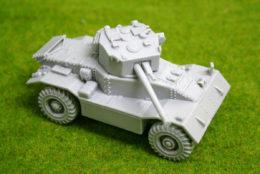 1/48 scale – 28mm WW2 AEC Armoured Car MK 3 28mm Blitzkrieg miniatures
