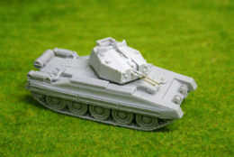 1/56 scale – 28mm WW2 CRUSADER Mk AA Tank28mm Blitzkrieg miniatures