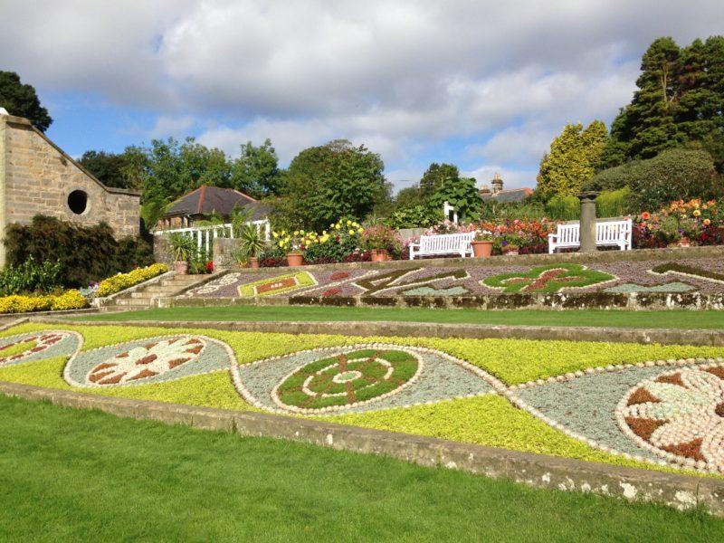 Cragside formal gardens
