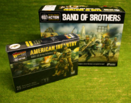 Bolt Action 2 Starter Set PLUS FREE US INFANTRY Band of Brothers Warlord Games 28mm