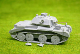 1/56 scale – 28mm WW2 BRITISH CRUISER MkIV (A13 Mk2)  Tank 28mm Blitzkrieg miniatures