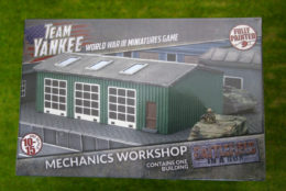 Team Yankee MECHANICS WORKSHOP Flames of War 15mm BB209