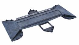 WW EUROPE SON CANAL BRIDGE 28mm Laser cut MDF kit N075
