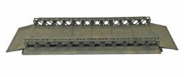 WW EUROPE BAILEY BRIDGE PONTOONS 28mm Laser cut MDF kit N076