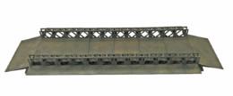 WW EUROPE BAILEY BRIDGE BOATS 28mm Laser cut MDF kit N077