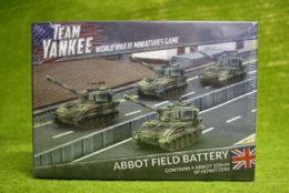 Team Yankee ABBOT FIELD BATTERY Flames of War 15mm TBBX06