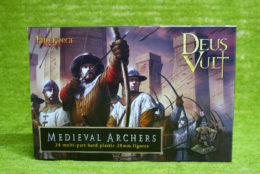 FireForge Games MEDIEVAL ARCHERS 28mm Plastic set