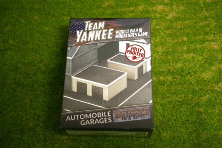 Team Yankee Automobile Garages Flames of War 15mm BB211
