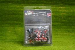 Team Yankee BRITISH TOKEN SET Flames of War 15mm TTK04
