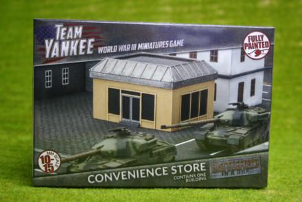 Team Yankee CONVENIENCE STORE Flames of War 15mm BB210