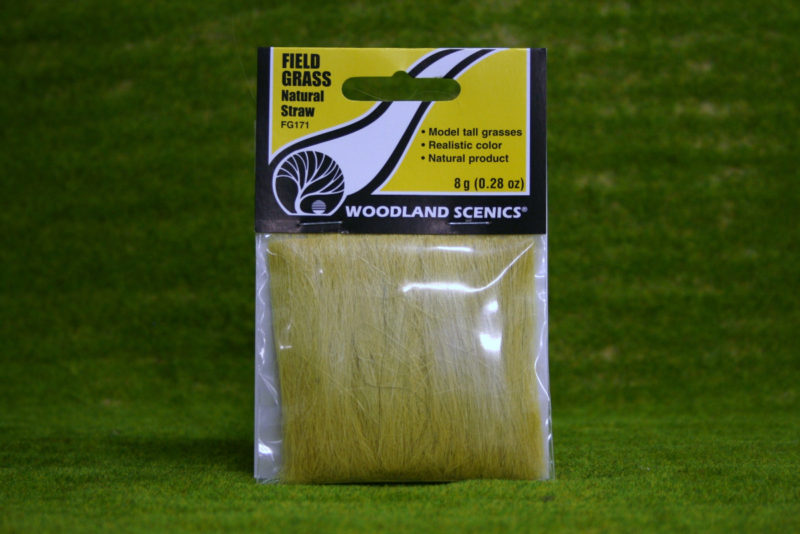 Field Grass from Woodlands Scenics - Natural Straw.