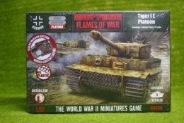 Flames of War German TIGER 1 E Platoon 15mm GBX90