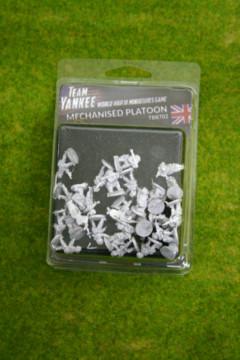 Team Yankee BRITISH MECHANISED PLATOON Flames of War 15mm TBR702