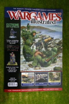 WARGAMES ILLUSTRATED ISSUE 351 January 2017 MAGAZINE
