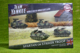 Team Yankee British SPARTAN or STRIKER TROOP Flames of War 15mm TBBX04