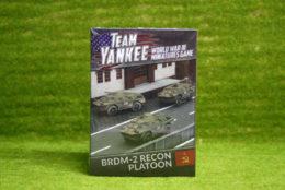 Team Yankee BRDM-2 RECON Platoon Flames of War 15mm  TSBX10