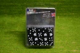 Team Yankee BRITISH DICE SET Flames of War 15mm TBR900