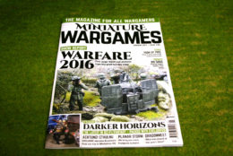 MINIATURE WARGAMES ISSUE 405 JANUARY 2017 MAGAZINE