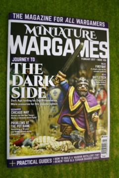 MINIATURE WARGAMES ISSUE 406 FEBRUARY 2017 MAGAZINE
