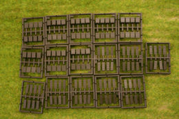 Roco Minitanks Wooden Boxes – Ammo Crates Set  HO or 1/87th scale 5168