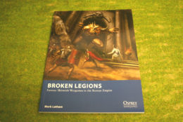 Osprey Wargames Broken Legions Roman Empire Rulebook 28mm