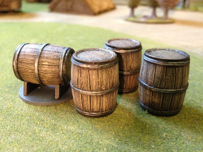 Trent Miniatures Sherry Casks