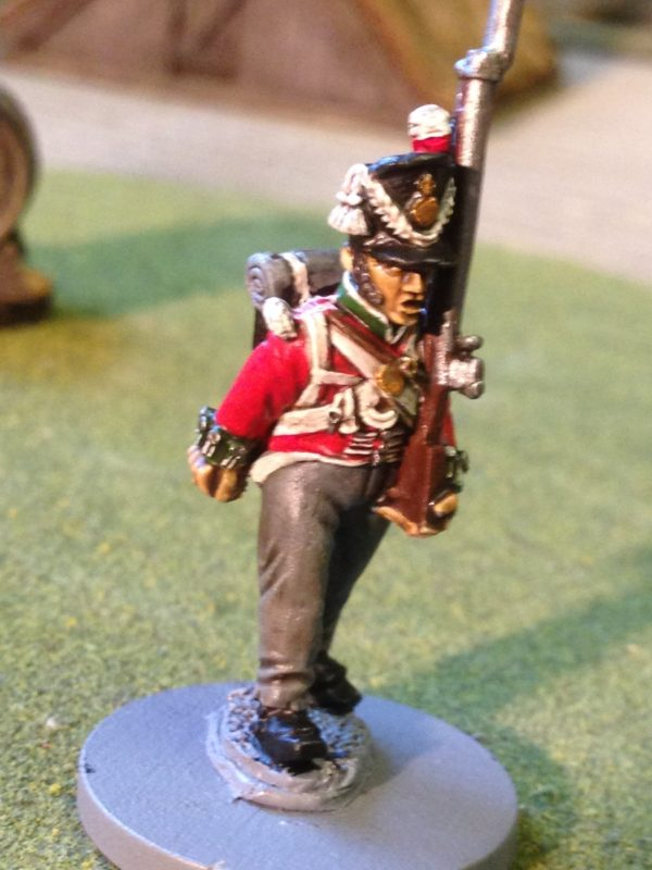 Front Rank British Napoleonic Infantry