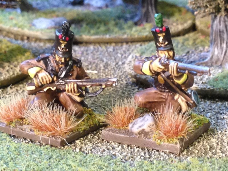 These kneeling Cazadores are my favourites from the pack!
