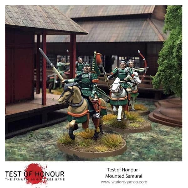 Test Of Honour Mounted Samurai