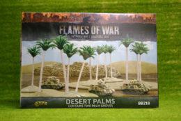 Flames of War DESERT PALMS tabletop terrain 15mm BB218