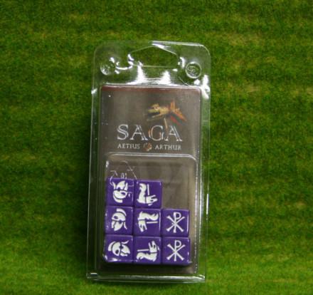 Saga Dice ROMANS AND BRITONS DICE SET Gripping Beast