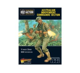 Australian Independent Commandos Bolt Action Warlord Games 28mm