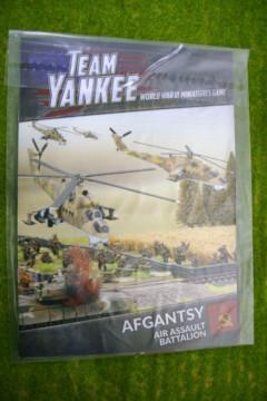 Team Yankee AFGANTSY Air Assault Battalion Flames of War Supplement TY501
