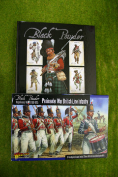 BLACK POWDER rules and Peninsular War British Line Infantry Offer!