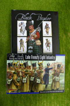 BLACK POWDER rules and Late French Light Infantry Offer!
