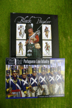 BLACK POWDER rules and Portuguese Line Infantry Offer!