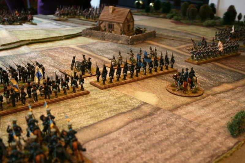 The Brunswick Brigade prepare for battle