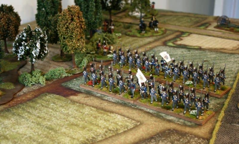 Belgians Advance!