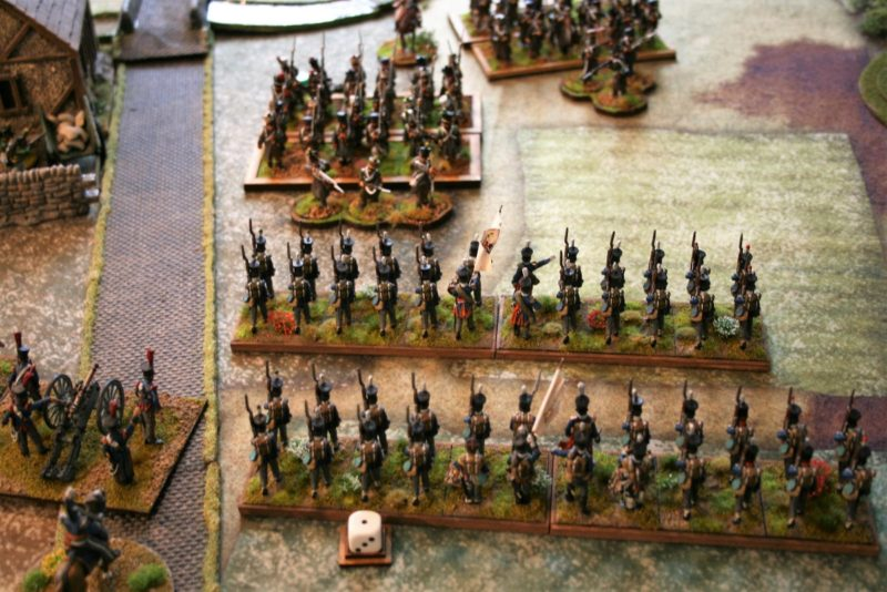 The Belgians clash with the French!