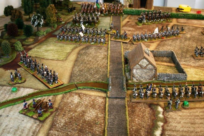 The Quatre Bras Demo game