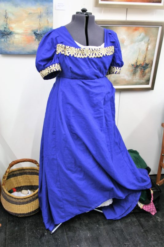 A fine example of Regency costume