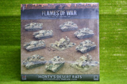 Flames of War MONTY'S DESERT RATS 15mm BRAB09