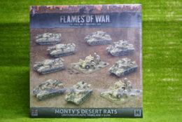Flames of War MONTY'S DESERT RATS 15mm BRAB09