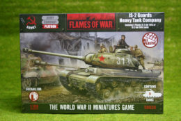 Flames of War Soviet IS-2 GUARDS Heavy Tank Company PLASTIC 15mm SBX36