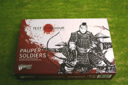 Test of Honour Pauper Soldiers Samurai Warlord Games 28mm