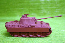 1/48 scale – 28mm WW2 GERMAN PANTHER G w. Zimmerit resin tank Blitzkrieg Miniatures