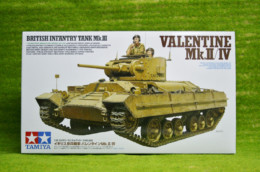 Tamiya BRITISH VALENTINE  MK II/IV Infantry Tank 1/35 Scale Kit 35352