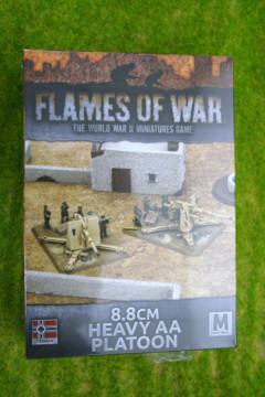Flames of War 8.8cm Heavy AA Platoon (GBX98)