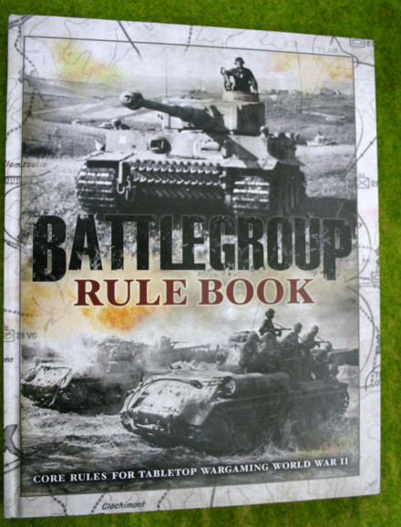 Battlegroup: Core Rule Book WW2 WARGAME RULES BP1561