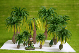 Arcane Scenery Pack of COCONUT TREES pack of 12 pieces